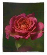 Rose Fragrance Fleece Blanket