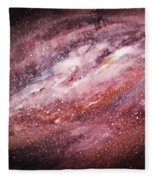 Rose Galaxy Fleece Blanket