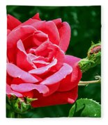 Rose Is Its Name Fleece Blanket