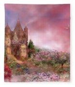 Rose Manor Fleece Blanket
