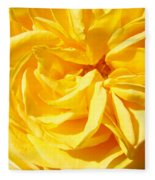Rose Spiral Flower Garden Baslee Troutman Fleece Blanket