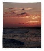 Rose Sunset Fleece Blanket