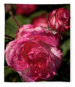 Rose To The Occasion Fleece Blanket