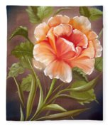 Rose Tropicana Fleece Blanket