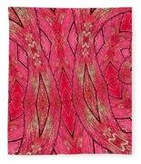 Rose Wood Fleece Blanket