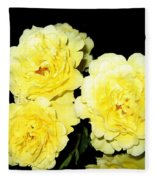 Roses 11 Fleece Blanket