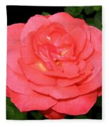 Roses 3 Fleece Blanket