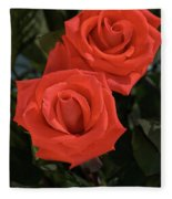 Roses-5840 Fleece Blanket