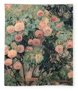 Roses Fleece Blanket