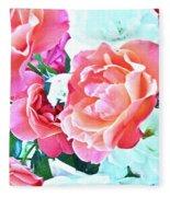 Roses Galore Fleece Blanket