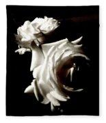 Roses In Moonlight 8 Fleece Blanket