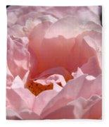 Roses Pink Rose Flower 2 Rose Garden Art Baslee Troutman Collection Fleece Blanket