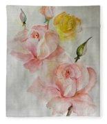 Roses Scent Fleece Blanket