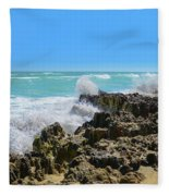 Ross Witham Beach Hutchinson Island Florida Fleece Blanket