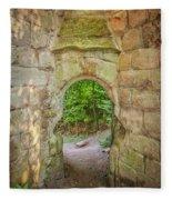 Rosslyn Castle Forest Entry Fleece Blanket