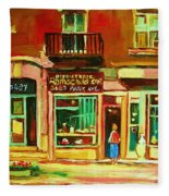 Rothchilds Jewellers On Park Avenue Fleece Blanket