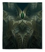 rotl_02 Lord Of the Swamp Fleece Blanket