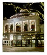 Rotunda - Quincy Market Fleece Blanket