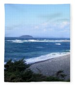 Rough Day On The Point Fleece Blanket