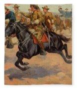 Rough Riders Cavalry Fleece Blanket