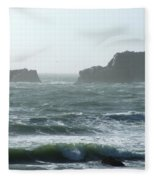 Rough Waters Fleece Blanket