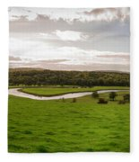 Round The Bend Fleece Blanket