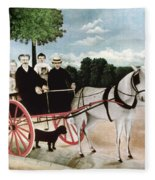 Rousseau: Cart, 1908 Fleece Blanket