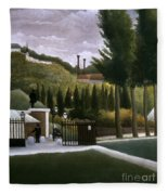 Rousseau: House, C1900 Fleece Blanket
