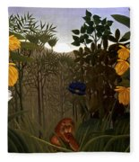 Rousseau: Lion Fleece Blanket