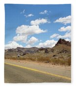 Route 66 - Arizona Fleece Blanket