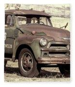 Route 66 Chevy Tumbleweed - #3 Fleece Blanket