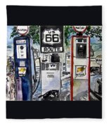 Route 66 Fleece Blanket