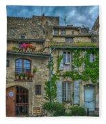 Row Houses Arles France_dsc5719_16_dsc5719_16 Fleece Blanket
