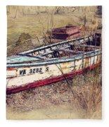 Rowboat Modified Fleece Blanket