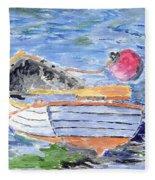 Rowboat Fleece Blanket