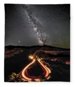 Rowena Milky Way Fleece Blanket