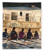 Rowers Fleece Blanket