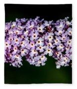 Rows And Flows Of Angel Flowers Fleece Blanket