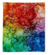 Roy G. Biv Combo Fleece Blanket