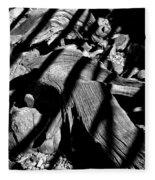 Royal Deadwood Striped Fleece Blanket