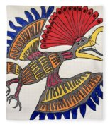 Royal Flycatcher- Mayan 2 Fleece Blanket
