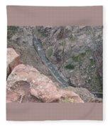 Royal Gorge Bridge Fleece Blanket