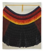 Royal Hawaiian Feather Cape Fleece Blanket