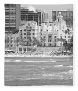 Royal Hawaiian Hotel - Waikiki Fleece Blanket