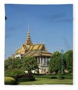 Royal Palace 02 Fleece Blanket