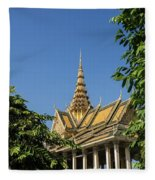 Royal Palace 03 Fleece Blanket