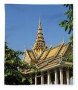Royal Palace 04 Fleece Blanket
