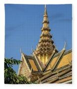 Royal Palace 05 Fleece Blanket