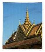 Royal Palace 10  Fleece Blanket