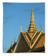 Royal Palace 11  Fleece Blanket